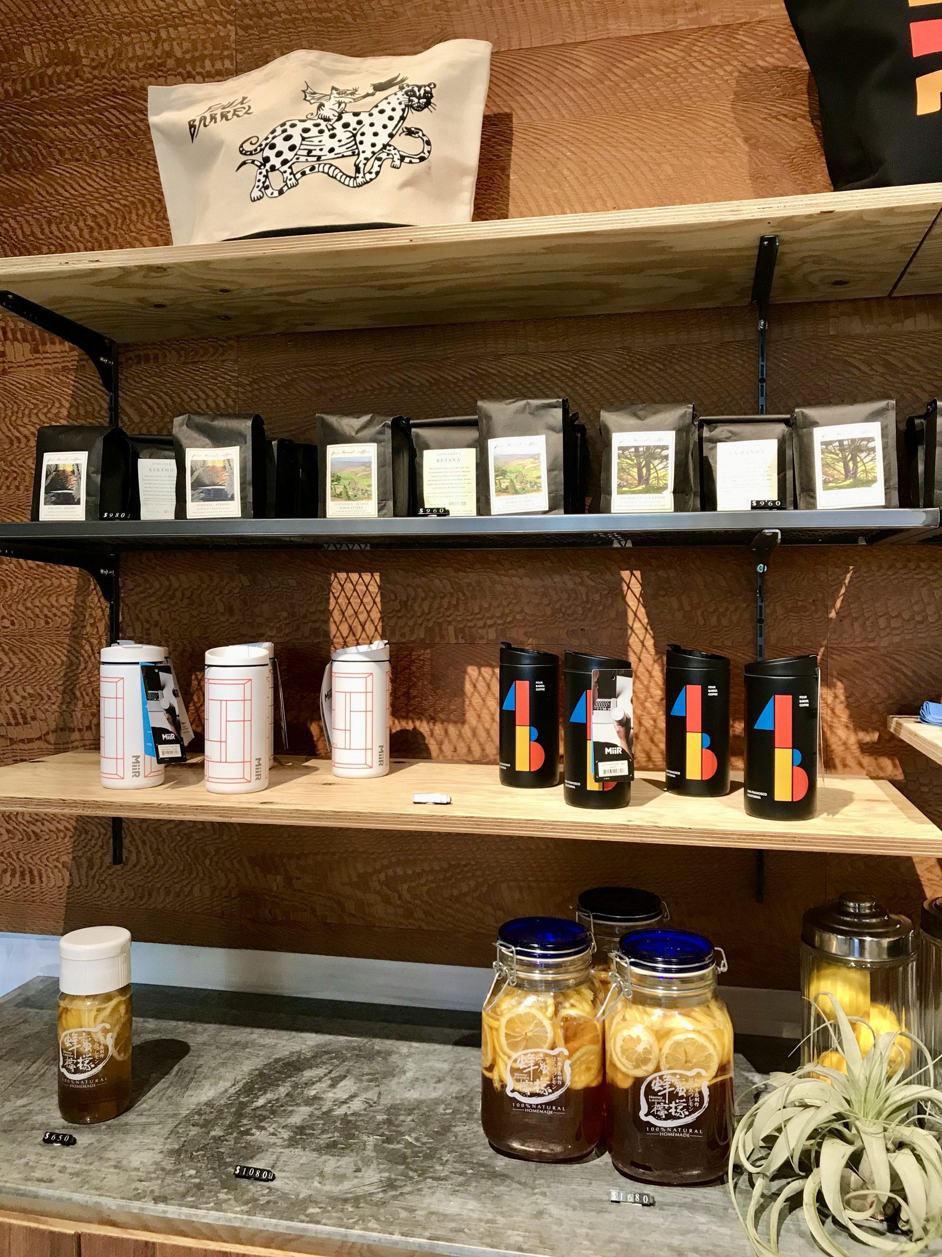 四桶咖啡周邊商品