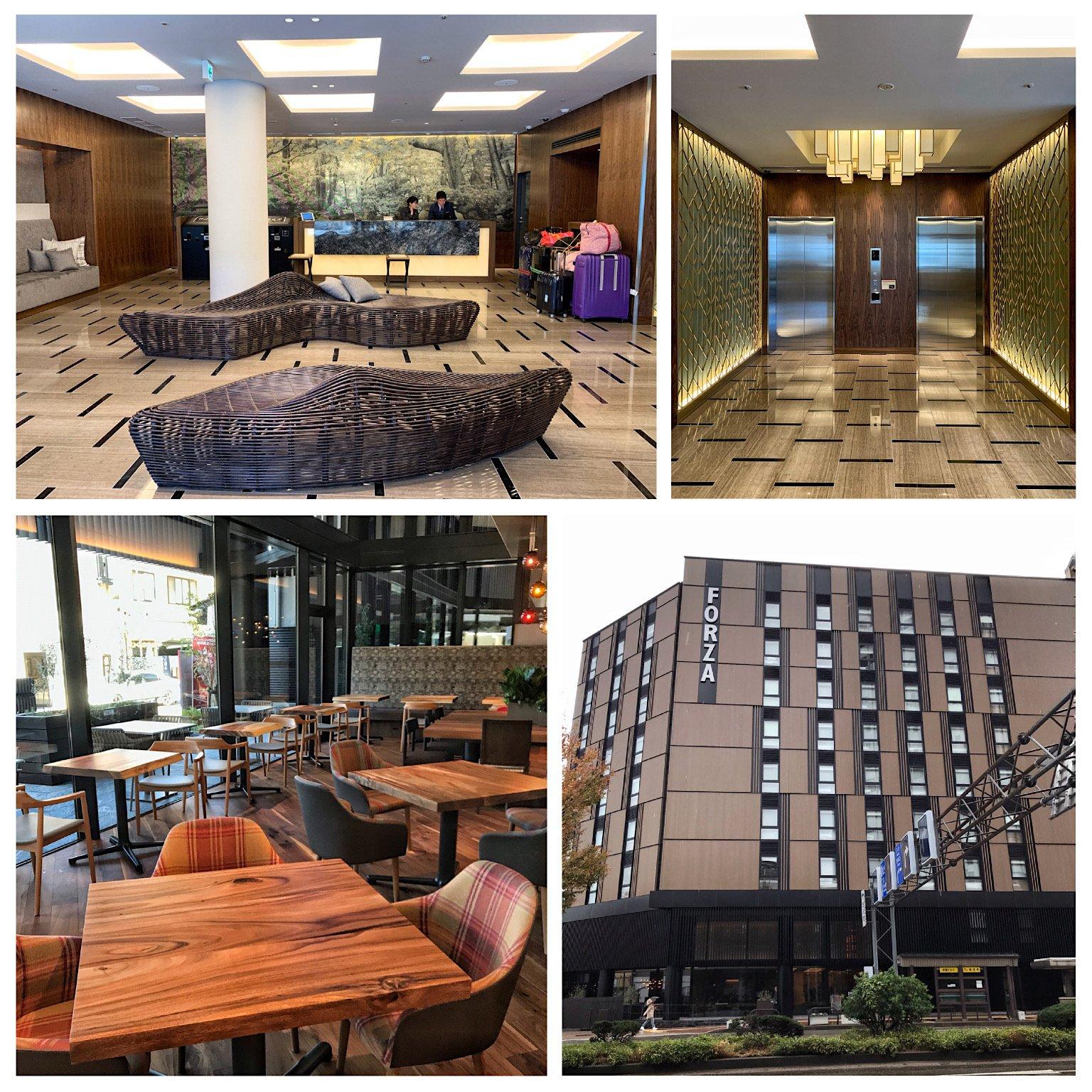日本金澤飯店推薦 [Hotel Forza Kanazawa] 2019/10月剛開幕新飯店 ,一切都好新好漂亮!