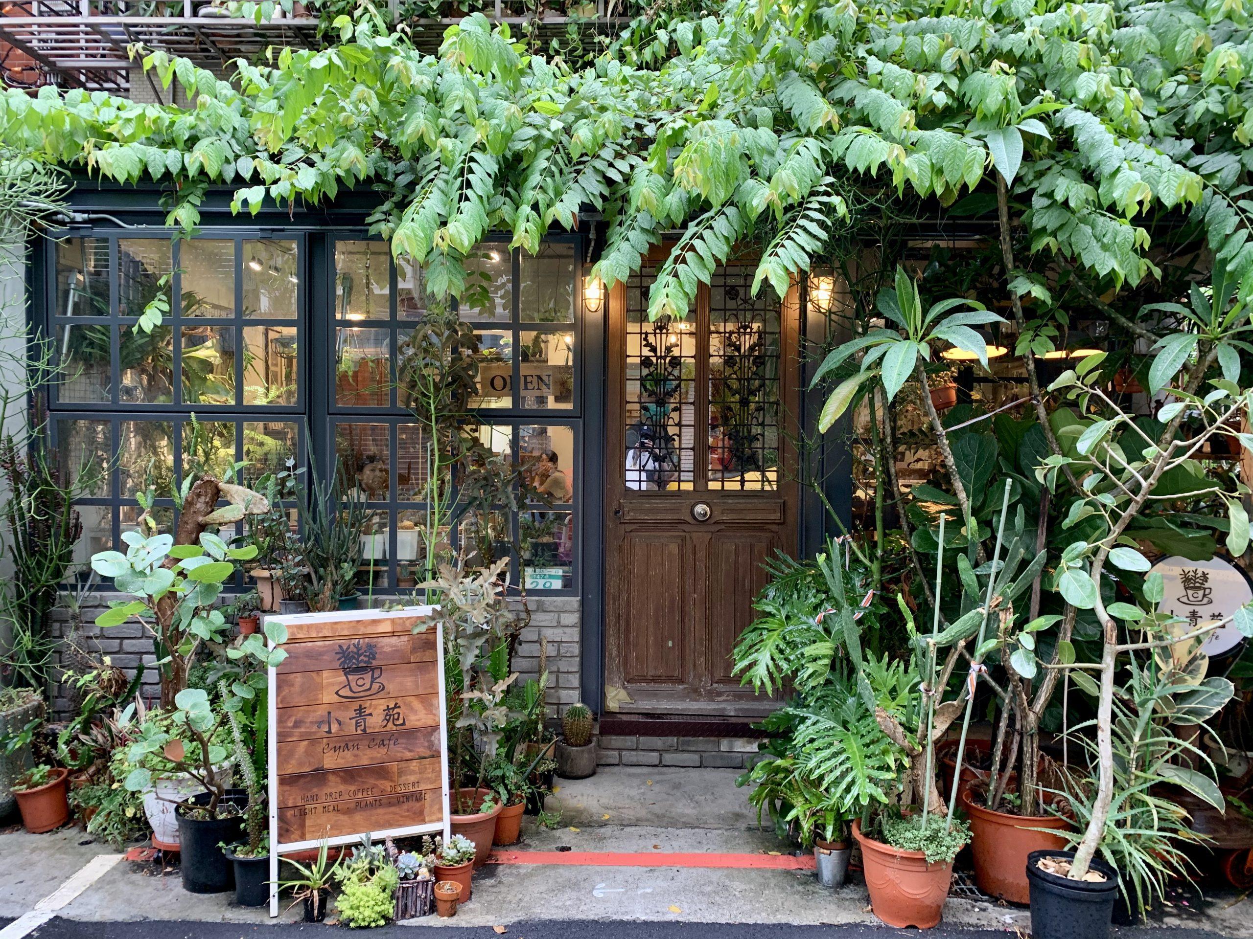 小青苑 Cyan Cafe |充滿清新植栽的咖啡館